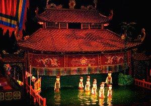 Vietnamese Water Puppet