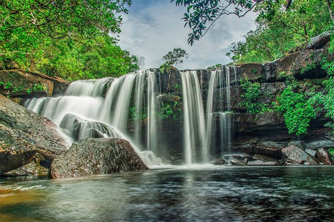 Tranh Waterfall Phu Quoc