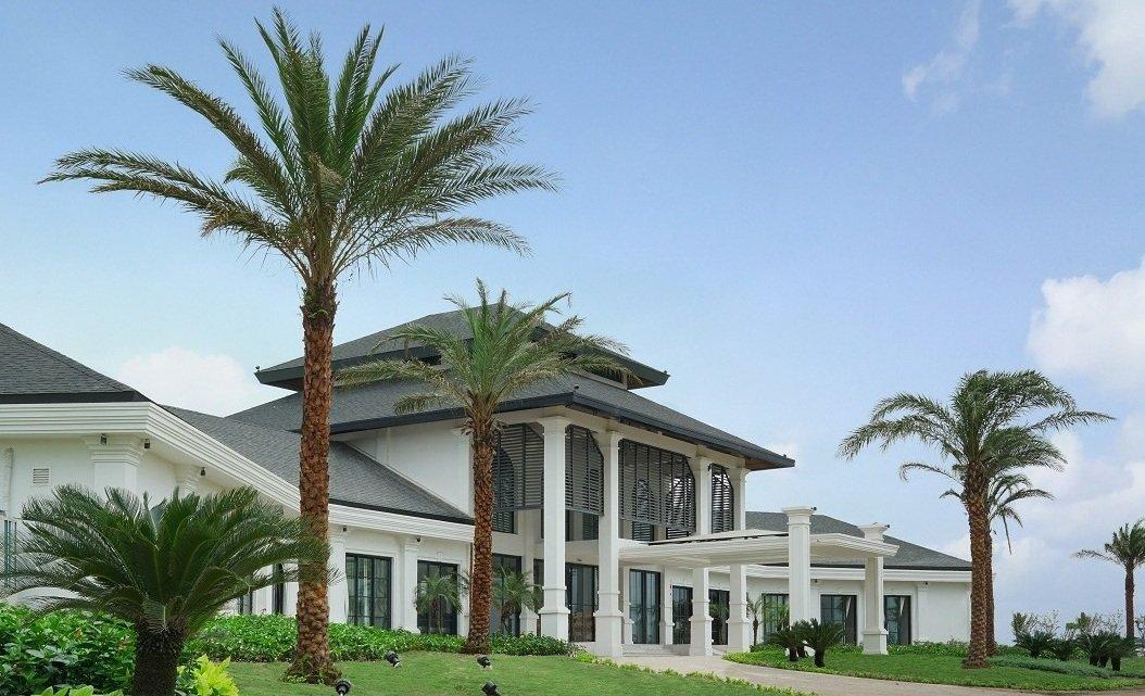 vinpearl golf club haiphong club house